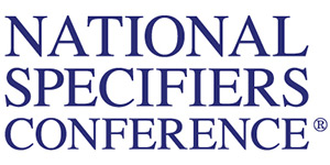 The National Specifiers Conference